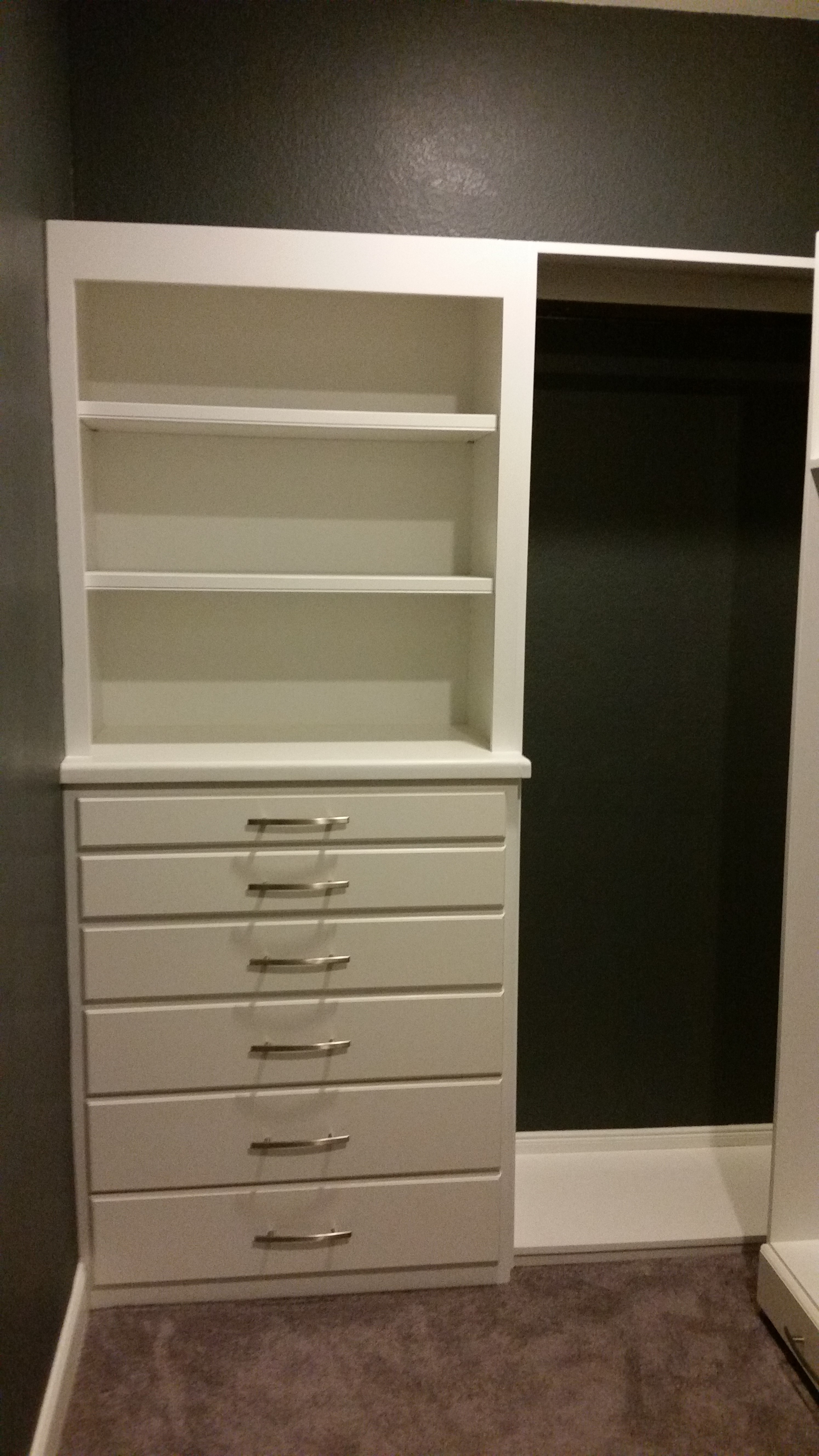 and walk for reach in etc design closets closet optimized drawers