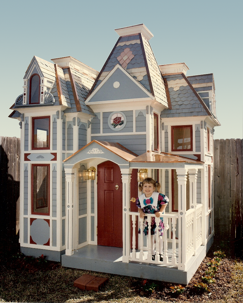 Playhouses toys kid s furniture for Victorian playhouse